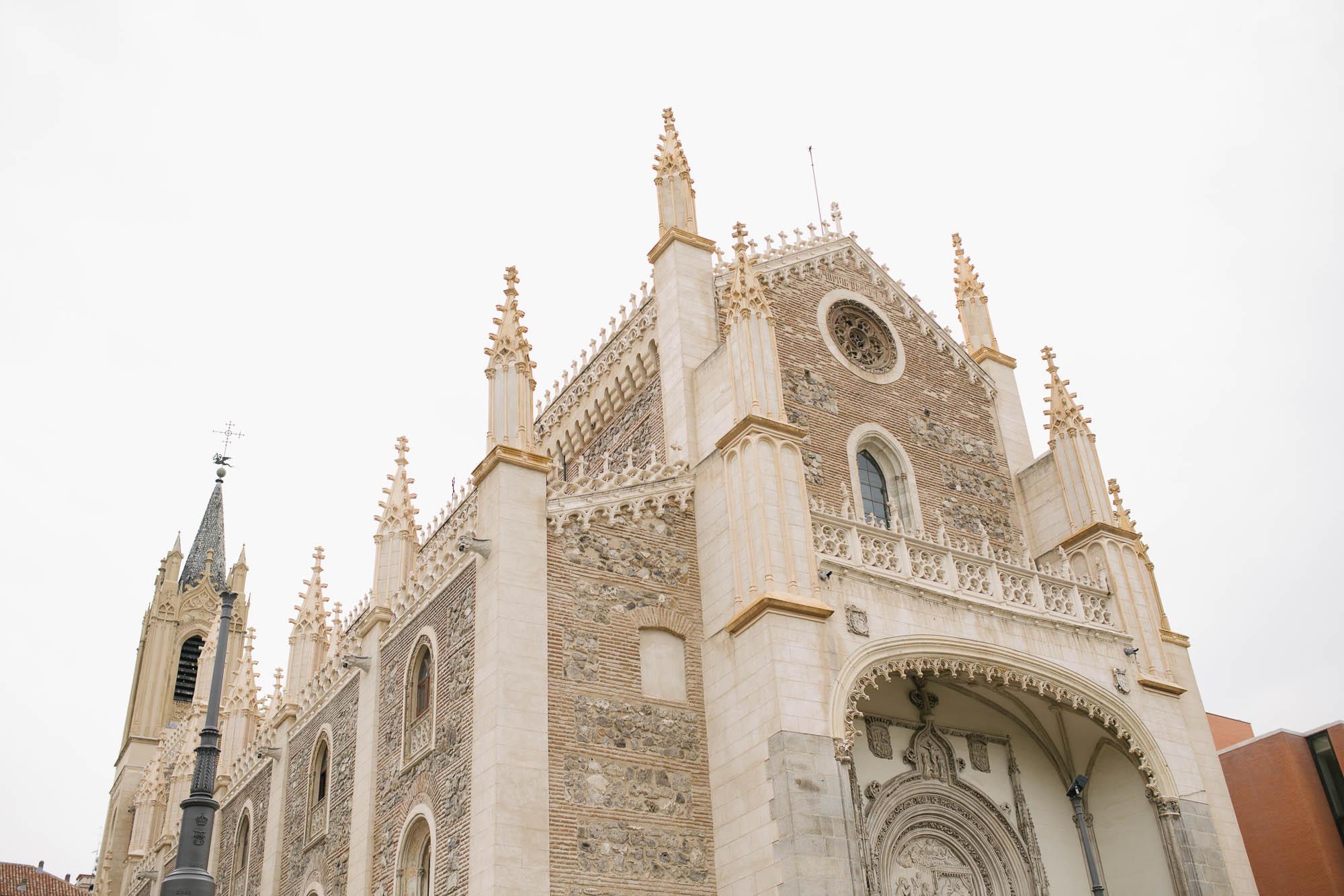 Catedral gotica de la boda