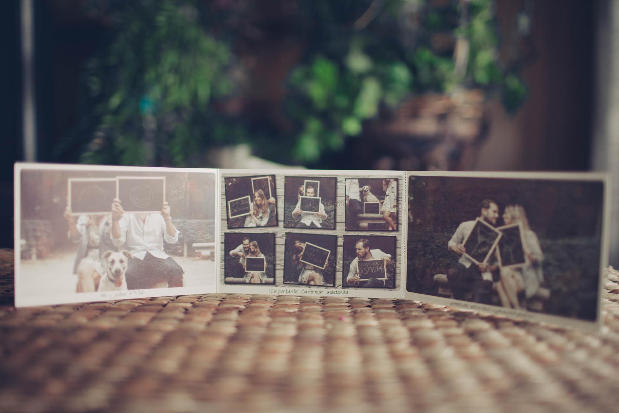 Fotografías de los novios