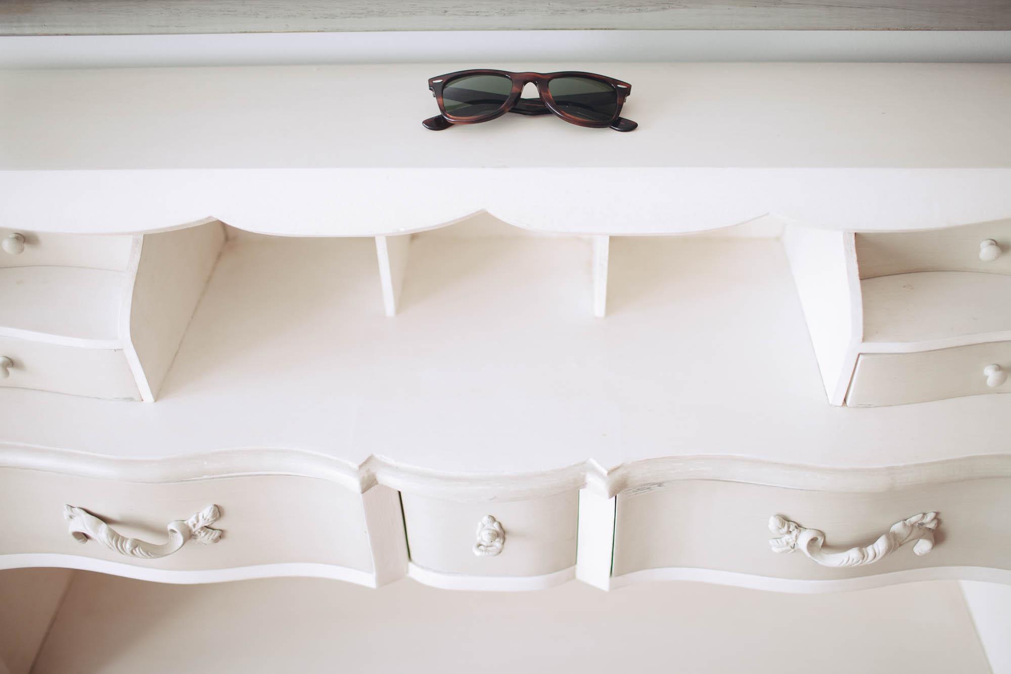 Gafas de sol en casa de la novia