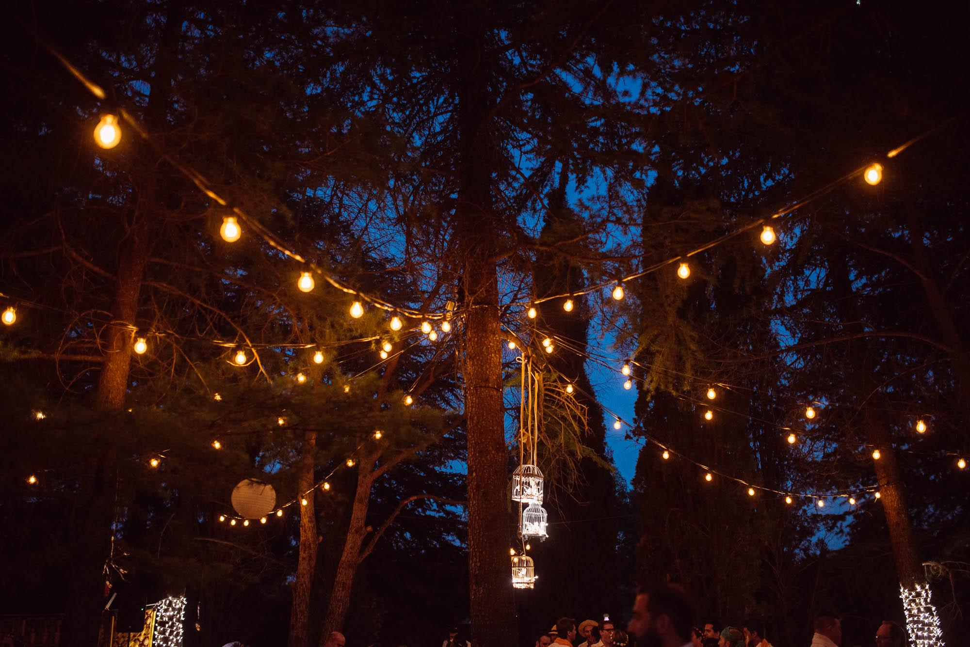 Las luces de la fiesta